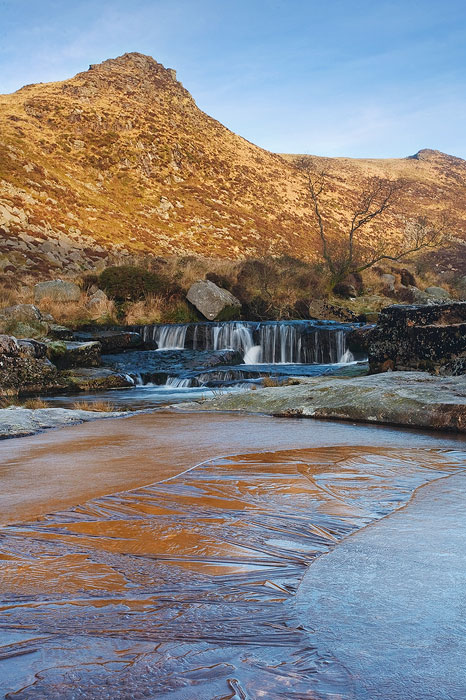 frozen pool Tavy Cleave