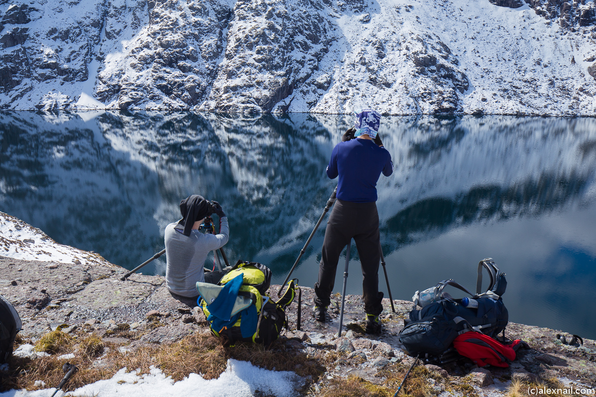 Photographing Fuar Loch Mor