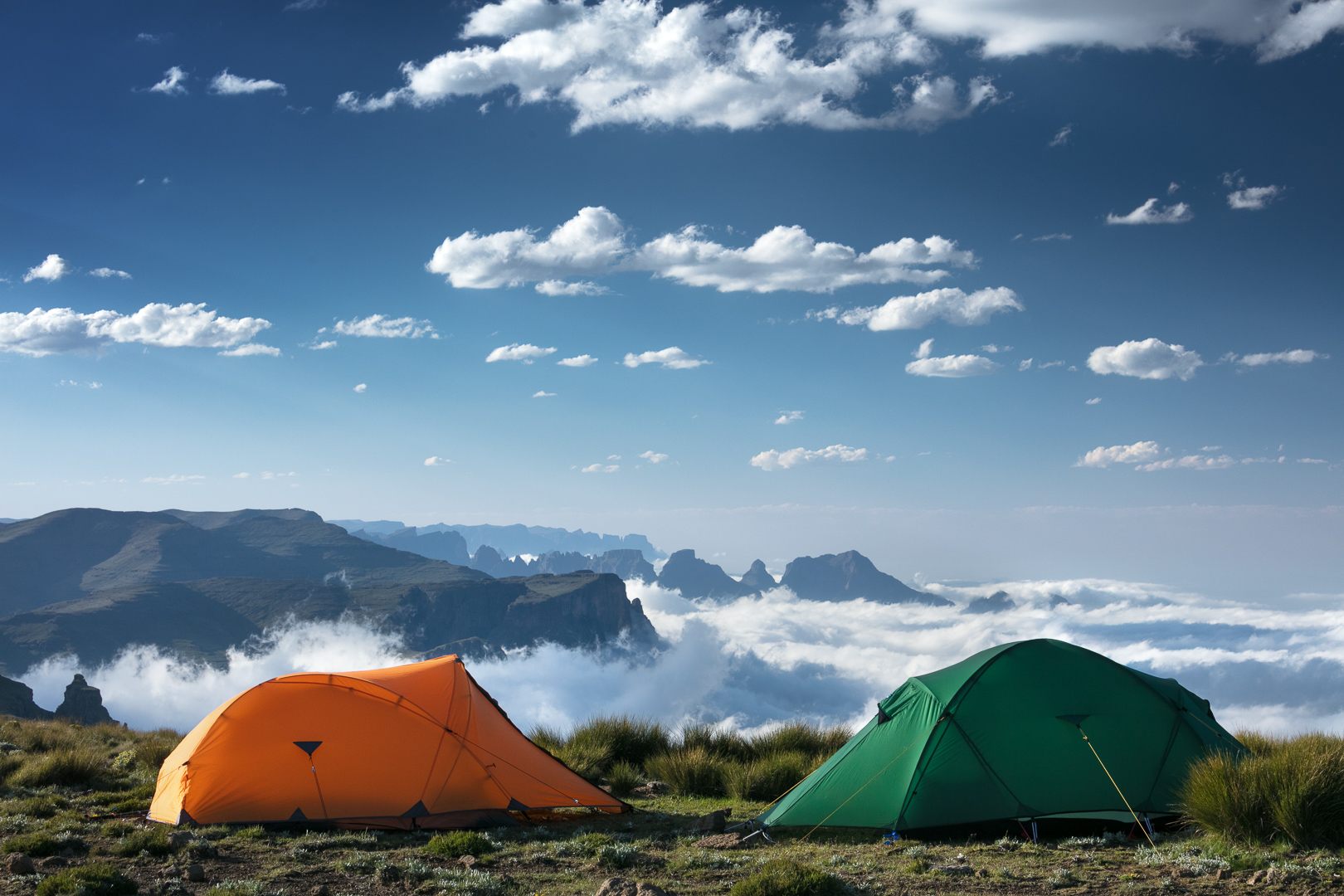 Although we had planned to walk further that day, when we stumbled across this view we soon decided to make camp.