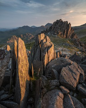Photo taken at Glyder Fach, Snowdonia, Wales