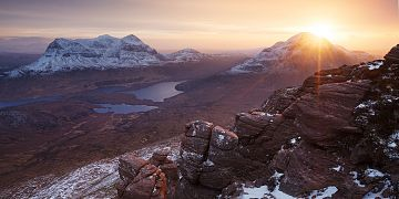 Photo taken at Stac Pollaidh, Assynt