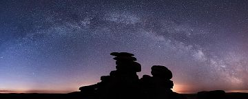 Photo taken at Great Staple Tor, West Dartmoor