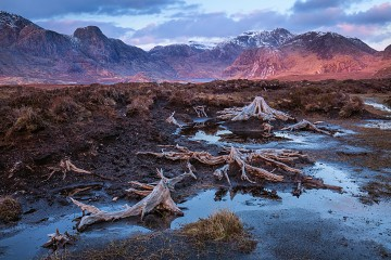 Photo taken at Fisherfield, NW Highlands.