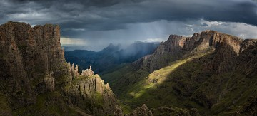 Photo taken at Drakensberg Escarpment, South Af