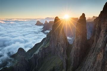 Photo taken at Drakensberg Escarpment, South Africa