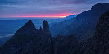 Photo taken at The Drakensberg Escarpment, South Africa