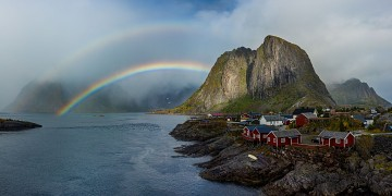 Photo taken at Reine, Lofoten