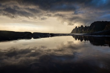 Photo taken at Senja, Norway