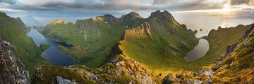 A massive 200 degree view from Lofoten
