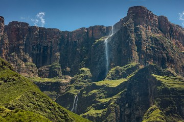 Photo taken at Drakensberg, South Africa