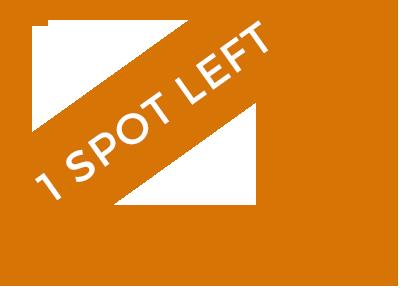 1 spot left