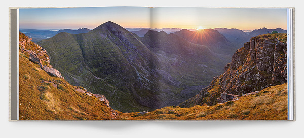 inside page sample of Northwest Photography Book