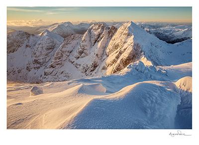 photo of Alex Nail on a mountain in Scotland