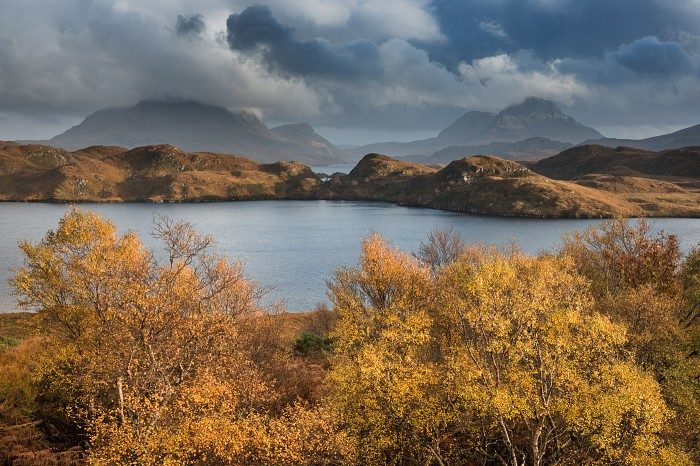 Image of Assynt in Autumn workshop